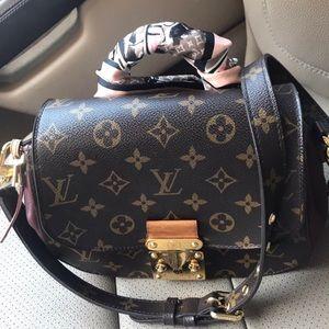 Louis Vuitton eden handbag monogram canvas pm